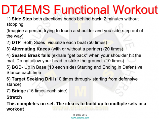 DT4EMS' Functional Workout Exercise